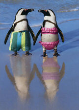 Penguins Holding Hands - Avanti Funny Anniversary Card by Avanti Press