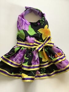 Handmade Summer Doggie Dress  M