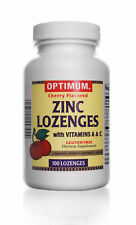 Zinc Lozenges | With Vitamin A & C | 100 Count | Gluten Free | Dietary