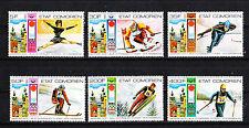 Comores république  jeux olympiques 1976  num: 138/41 PA 108/09 **
