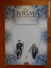EL ENIGMA DE LAS SIETE LUCES - JOSE ANTONIO INIESTA (X2)