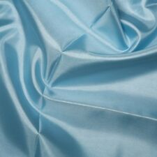Plain Coloured Habotai Silk Lining Fabric 100% Polyester Material 145cm Wide