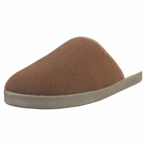 Toms Harbor Mens Chocolate Slippers Shoes - 10.5 US