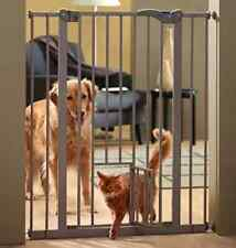Dog Barrier Safety Cat Door Pet Guard Puppy Stair Gate Easy Install No Drilling