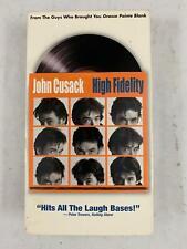 High Fidelity John Cusack Touchstone Vhs Tape