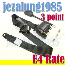 3M Car 3 point Seat Belt Kit Lap Universal diagonal Retractable inertia ECE R16