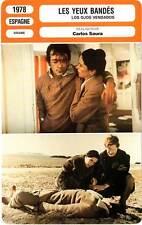 FICHE CINEMA : LES YEUX BANDES - Chaplin,Saura 1978 Blindfolded Eyes