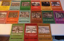 LOT 15 VOLUMES : QUESTIONS D'AUJOURD'HUI Editions du Chêne 1945
