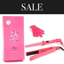 The Original Iron Pink Ceramic Hair Straightener and Wand