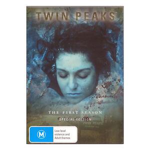 Twin Peaks SEASON 1 ( DVD 4 Disc Set ) REMASTERED_Cult Classic