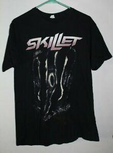 Vintage Skillet Monster black T-Shirt, Size: Large