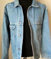 New listing Vintage L Denim Trucker Jacket 1990s Pepsi