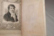 CHANSONS ET POESIES DIVERSES-DESAUGIERS-2T/1Vol-1834-ILLUSTRE-RELIE