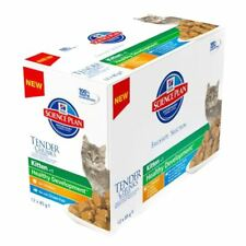 Hill's Science Plan Wet Kitten Food Pouches, Chicken & Fish 12 x 85g