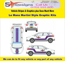 RENAULT CAPTUR 2013-14 LE MANS MARTINI RACE RALLY GRAFICA LOGO KIT 1