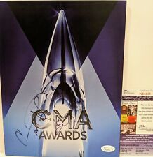CARRIE UNDERWOOD PAISLEY Signed Autograph CMA Awards Book JSA Country Music