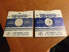 2 Viewmaster Reels Hot Springs National Park (AR) and Colorful  Missouri  Ozarks