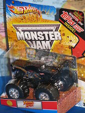 HOT WHEELS MONSTER JAM DRAGON'S BREATH TOPPS 1st EDITIONS 2012 *BRAND NEW & RARE