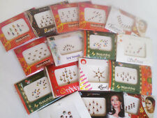 1x Pack of BINDI, Indian Bollywood Premium Tattoo Jewel, Stick On