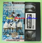 film VHS cartonata LE COLONNE BIANCAZZURRE Crespo Nesta GAZZETTA (F77) no dvd