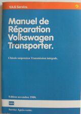 Manuel réparation Volkswagen TRANSPORTER châssis suspension transmission INT