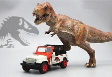 1/32 JEEP WRANGLER RUBICON Jurassic Park Light Sound Pullback Metal Model Car