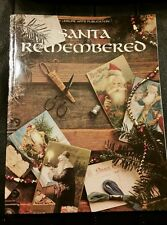 1989 Santa Remembered Cross Stitch Book by Leisure Arts H.C.