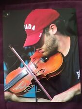 Ashley MacIsaac Autographed Signed Colour Photo IP