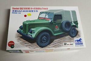 Bronco No. CB35096 | 1:35 Soviet GAZ 69(M) 4X4 Utility Truck