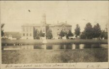 County Jail in Keene NH - West Swanzey NH Cancel  c1910 Real Photo Postcard