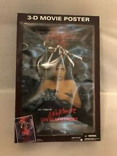 NEW 2006 McFARLANE WES CRAVENS A NIGHTMARE ON ELM STREET 3-D MOVIE POSTER