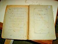 MONOGRAFIA SUI CONCIMI di F. ALFONSO - TIP. STATUTO PALERMO 1885