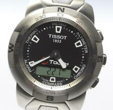 TISSOT T-touch Black Dial Quartz Men's Watch_463896