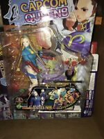 Capcom Queens  Street Fighter Zero 3 Alpha Cammy Soft Poseable Figure Moby Dick