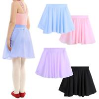 Tutú Falda de Ballet Clásica Vestido de Gasa Ropa de baile Dancewear para Niñas