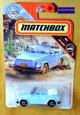 Matchbox '74 Volkswagen Type 181 [Sky Blue] - New/Sealed/VHTF [E-808]