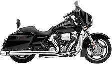 Cobra Race Pro Chrome 4-4.5 Exhaust Pipe Slip On Mufflers Harley Touring Bagger