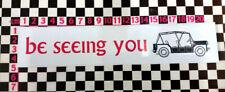 Be Seeing You - Prisoner Vinyl Sticker for Mini Moke