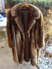 Vintage Petersen Harned Von Maur Women's Natural Fur Coat Mink? Size 8