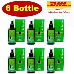 6 x Neo Hair Lotion Root Original Nutrients Longer Hair Treatment 120 ml.