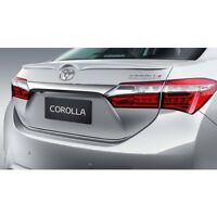 FIT FOR TOYOTA COROLLA 2013-2018 Rear Wing Spoiler Primed Genuine Style Lip ABS