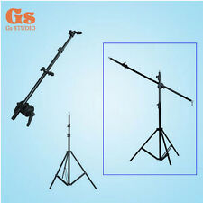 Photo Studio kit Reflector bracket arm 120cm + 220cm light stand for Flash Gun