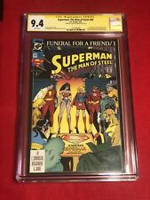 Superman The Man of Steel #20 CGC 9.4 1993 Signed By Louise Simonson