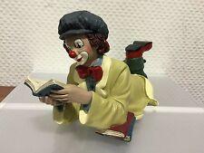"""Gilde Clown """" Die Leseratte """" 27 cm. Top Zustand !!"""
