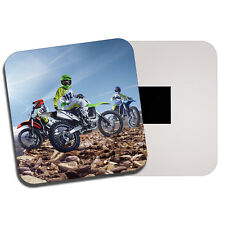 Motocross Biker Gang Fridge Magnet - Bike Dirt Off Road Sports Men's Gift #8570