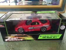 1 18 scale diecast model cars. Fast and Furious 1993 Mazda RX7
