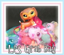 ❤️GRAB BAG ~ 8 PETS ~ Littlest Pet Shop LPS w/ Dog Cat SURPRISE Blind LOT❤️