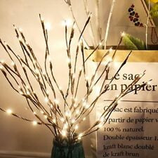 20LED Twig Branch Lights Fairy Decorative Night Light Willow Lighted Branch Lamp