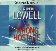 The Wrong Hostage Unabridged Elizabeth Lowell AUDIO BOOK CD judge kidnap rescue