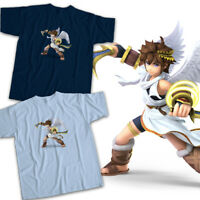 Super Smash Bros Ultimate Nintendo Pit Kid Icarus Angel Hero Unisex Tee T-Shirt